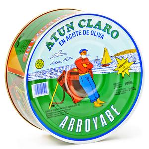 Atún claro en aceite de oliva lata Arroyabe