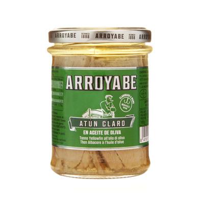 Atun Claro en aceite de oliva tarro 212 gr.