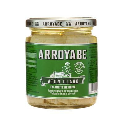 Arroyabe Atun Claro en aceite de oliva 250 gr.