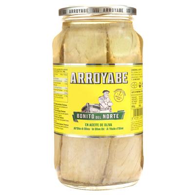 Bonito del Norte Arroyabe tarro kilo