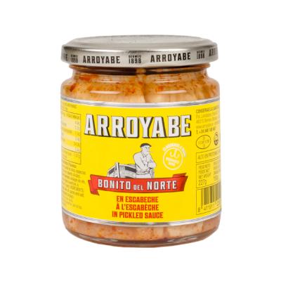 Bonito del norte en escabeche tarro salsa