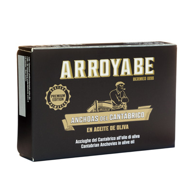 Arroyabe anchoas del cantabrico doble octavillo