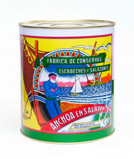 Salazon Anchoa del Cantabrico 10 kgs Arroyabe