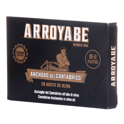 Mejor anchoa Cantabrico filete grande