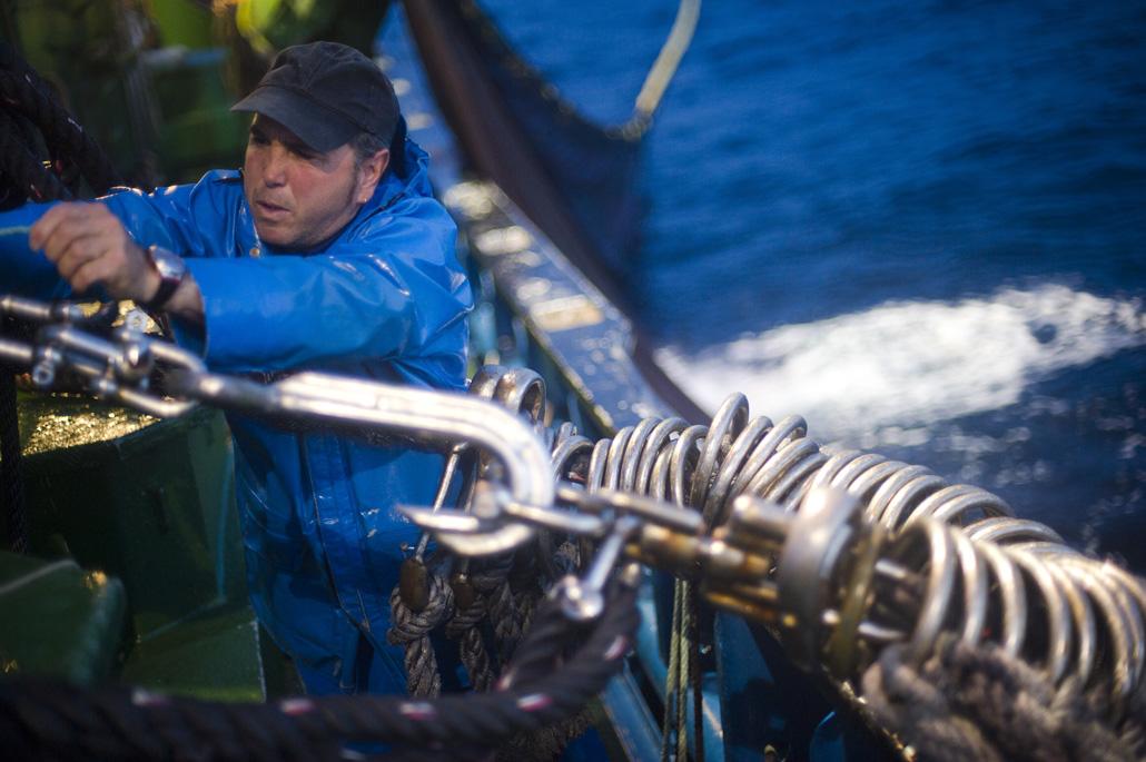 Pesca de la anchoa Santana Berria