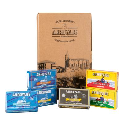 Caja regalo cantabrico en lata