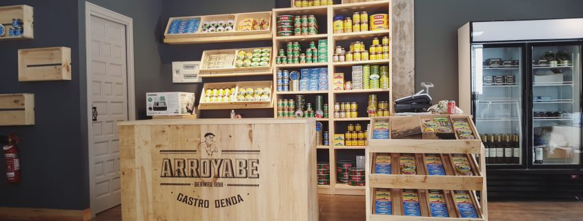 Apertura Gastro tienda Bermeo arroyabe