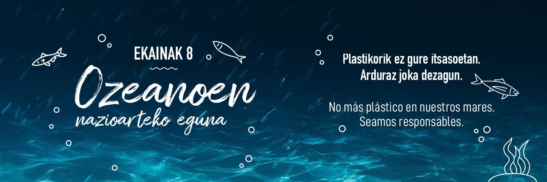 Dia mundial de los oceanos Arroyabe